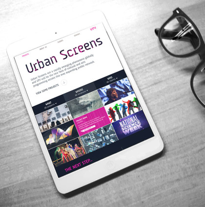 Urban Screens Website