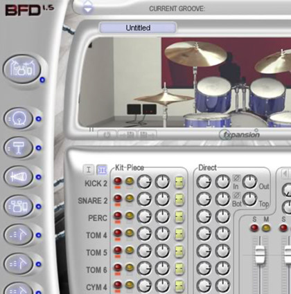 FXpansion Drum Machines